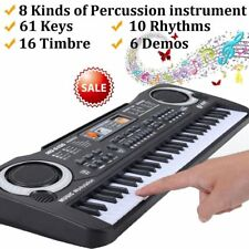61 Keys Children Musical Instrument Electronic Piano Keyboard 16 Timbre LOT TE
