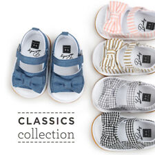 New 0-18Month Baby Girl Cloth Shoes Sandals Spring Summer Indoors Outfits