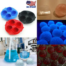Brain Shape 3D Ice Cube Mold Maker Bar Party Silicone Trays Halloween Mould Gift
