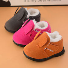 2017 Winter Shoes for Infant Baby Boy Girl Walking Shoes Toddler Warm Boots Size
