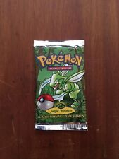 One (1) Pokemon Jungle Booster Card Pack - Factory Sealed, Unopened, Unweighed