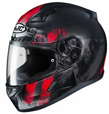 HJC Adult Red/Black CL-17 Arica Motorcycle Full Face Helmet Snell DOT