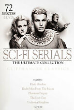 Sci-Fi Serials - The Ultimate Collection (DVD, 2008 6-Disc Set, Re-Mastered) NEW