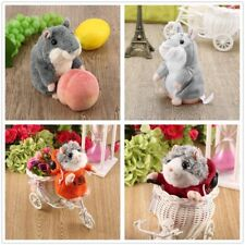 Cute Talking Hamster Plush Toy Hot Speak Talking Sound Record Toy TH