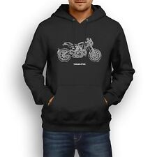 Ducati Scrambler Cafe Racer 2017 Inspired Motorcycle Art Men's Hoodie