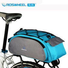 MTB Road Bike Rear Rack Trunk Bag Bicycle Luggage Bag Accessories Gear Bag Pack