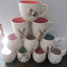 TONS OF RAE DUNN HAPPY EASTER SPRING MUGS PLATES PLATTER BUNNY EARS MIX&MATCH!