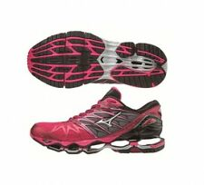 Mizuno Wave Prophecy 7 Women's Running Shoes Red Sliver Black new J1GD180003 17N