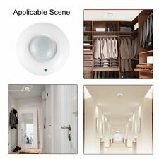 1/2/5PCS 50-60Hz Ceiling Switch Infrared Motion Sensor Detector LED Light HK