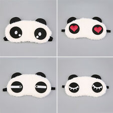 Cute Panda Sleeping Face Eye Mask Blindfold Shade Traveling Sleep Eye Aid    XP
