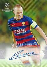 2015-16 Topps UEFA Champions League Showcase Green Parallel Certified Autograph