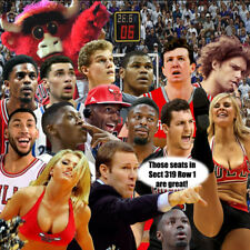 (2) Denver Nuggets @ BULLS; Wed 3/21; UC; Aisle-Row1; 20 seats from CENTER