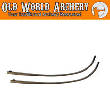 "Fleetwood Knight 66"" AMO Takedown Recurve Bow Limbs 25,30,35,40,45,50,55 lbs"