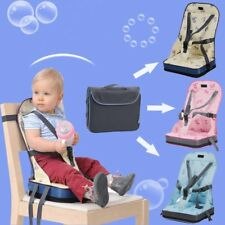 Foldable Portable Baby Toddler Infant Dining Chair Booster Seat Bag Travel Cha X