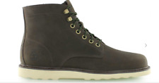 TIMBERLAND MENS EARTHKEEPERS NEWMARKET WEDGE BOOTS