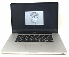 "17"" Mid 2010 Apple MacBook Pro 2.53 GHz Intel i5 500GB 4GB RAM A1297"