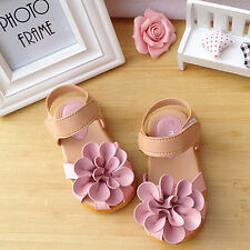 1 pair Baby Kids Girls sandals Princess Shoes Toddler Flat Shoes Fashion 3 Sizes