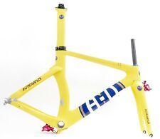 A-D tt Carbon Limited frameset time trial Champagne Yellow