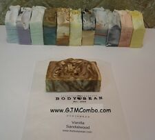 The Body Bean, Natural Coconut & Olive Oil Soap, 6 oz 11 Fragrances Made in USA