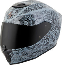 Scorpion Adult Cement Grey EXO-R420 Shake Full Face Motorcycle Helmet Snell DOT
