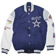 Dallas Cowboys Super Bowl Win Patch Championship Varsity Jacket