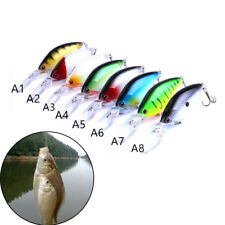 Floating Deep Diving Crankbait Fishing Lures 17.8g/10.5cm Lifelike Wobbler Baitf