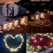 10/15/20m LED Solar Fairy String Light Outdoor Wedding Christmas Party Lamp CL