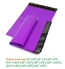 5-10,000 Poly Mailers Shipping Envelopes Sealing Plastic Mailing Bags Purple