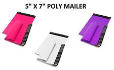 5x7 Poly Mailers Shipping Envelopes Self Sealing Plastic Mailing Bags Color