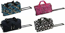 Rockland Luggage 22 Inch Rolling Duffle Bag Available in All Colors