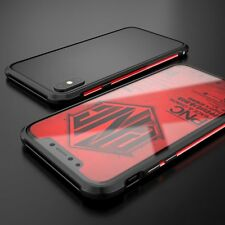 Slim CNC Aluminum Metal Frame Shockproof Bumper Case Cover For iPhoneX 10