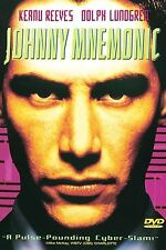 Johnny Mnemonic (DVD, 1997, WS & FS) Ships FREE!  stars Keanu Reeves