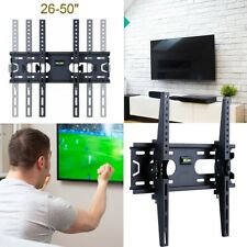 Tilting TV Wall Mount Bracket Flats LED LCD for Vizio Philips Samsung JVC LG US