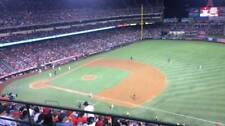 1-4 Oakland Athletics @ Los Angels Angels 2018 Tickets 4/6/18 Section 530 Row F