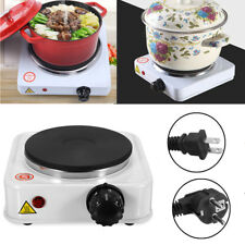 Electric Stove Hot Plate Burner Portable Warmer Coffee Heater Travel Cooking