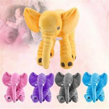 Stuffed Animal Cushion Baby Sleeping Soft Pillow Toy Cute Elephant Best Gift HXP