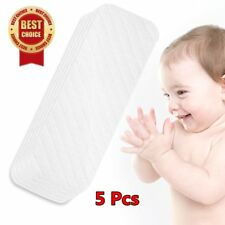5PCS Cotton Baby Cloth Diaper Nappy Liners insert 6 Layers Reusable Washab XP
