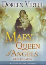 MARY, QUEEN OF ANGELS ORACLE CARDS CARD DECK - DOREEN VIRTUE -  SEALED NEW NIB