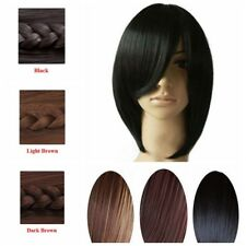 Womens Straight Wigs Medium Long Cosplay Costume Party Fancy Dress Full Hair Wig