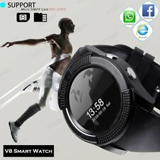 Waterproof Bluetooth Smart Wrist Watch Phone Mate Camera For Android Samsung IOS
