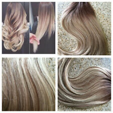 European Remy Tape in Human Hair Extension Ombre Ash Blonde Skin Weft 40pcs/100g