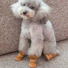 Puppy Dog Boots Shoes for Small and Paw Protector Medium Dogs W