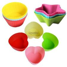 Random Silicone Muffin Case Cake Liner Cupcake Chocolate Cup Baking Mold Mould