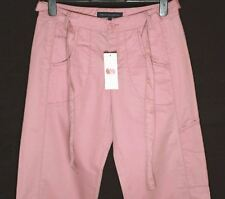 Bnwt Women's French Connection Trousers + Belt Pink New Fcuk