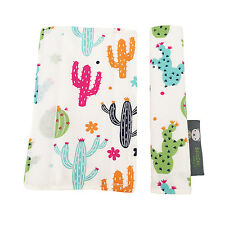 Pushchair Strap Covers Handmade 4 Bugaboo Quinny iCandy buggy Pram in Cactus