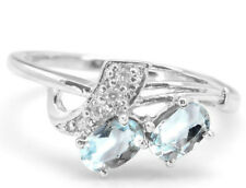 925 Sterling Silver Ring with Oval Cut Blue Topaz Natural Gemstone Handmade eBay