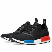 ADIDAS NMD_R1 PK SHOES PRIMEKNIT BOOST COLOR BLACK/LUSH RED STYLE S79168