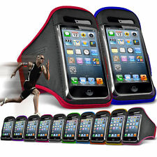 "For HTC 10 Evo (5.5"") Running Jogging Sports Gym Armband Mobile Holder Case"