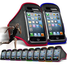 """For HTC One X10 (5.5"""") Running Jogging Sports Gym Armband Mobile Holder Case"""