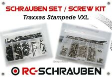 Screw Set for the Traxxas Stampede VXL - Stainless Steel & Steel - ISK & IS